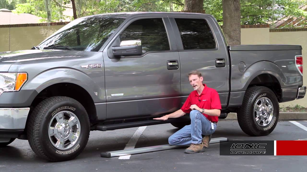 Ionic billet running boards review on ford f150 autocustoms com youtube