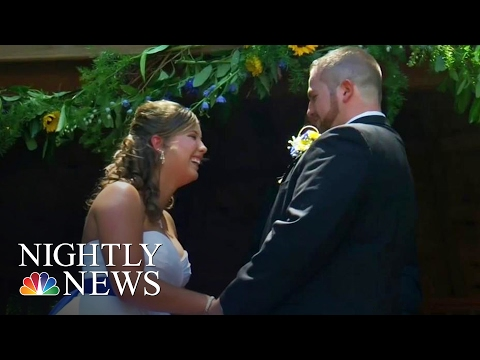 Couple Gets Married Again After Wife's Memory Loss | NBC Nightly News