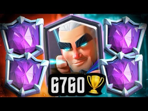 He's A MAGIC ARCHER GOD! INSANE! | 6760 TROPHIES!