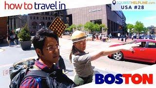 BOSTON: Public Transport | Free Airport bus | Duck Tour | Skywalk