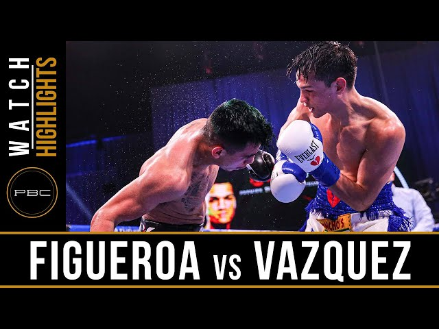 Figuroa vs Vazquez HIGHLIGHTS: September 26, 2020 | PBC on SHOWTIME PPV
