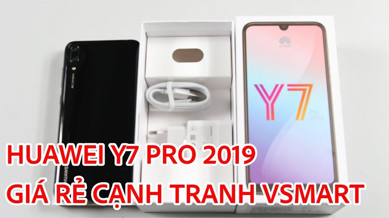 Mở hộp Huawei Y7 Pro 2019 giá rẻ cạnh tranh với Vsmart Joy 1 Plus