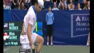 Andy Roddick, Best Tennis Shot Ever.. Diving at championship point