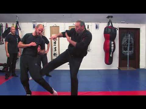 Wing Chun Round Kicking!