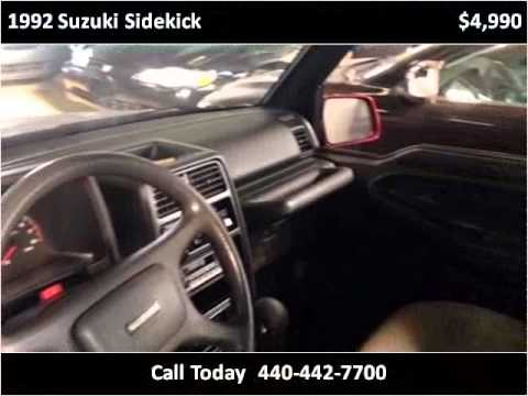 1992 Suzuki Sidekick Used Cars Cleveland, Mayfield heights,
