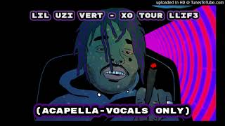 Скачать Lil Uzi Vert XO Tour Llif3 Acapella Vocals Only NOT CLICKBAIT