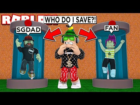 THE HARDEST DECISION IN MY LIFE In ROBLOX FLEE THE FACILITY
