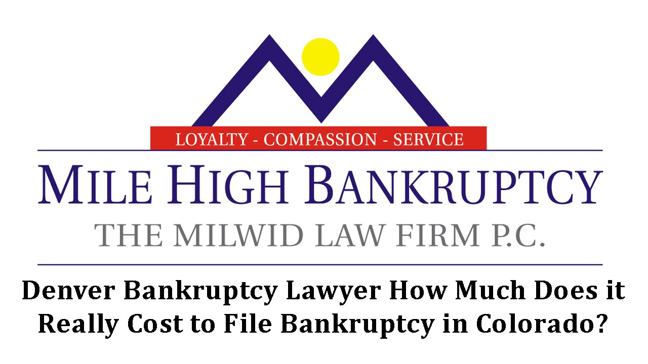 How Much Does A Bankruptcy Cost