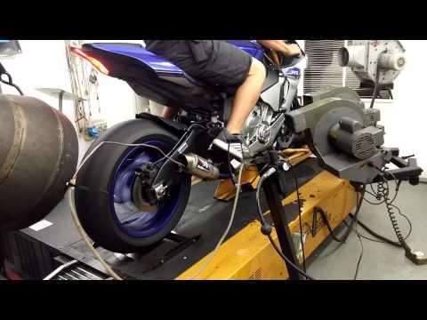 2015 Yamaha R1m Akrapovic Exhaust Base Dyno Run Funnydog Tv