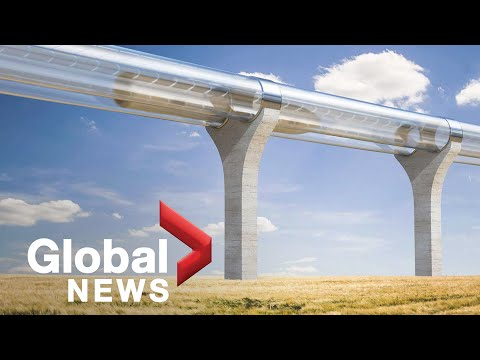Alberta looking into hyperloop train between Edmonton and Calgary