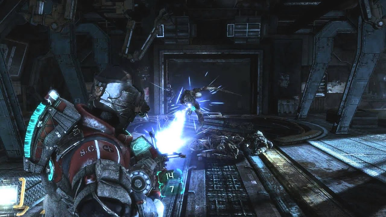 Dead Space 3 Weapons Crafting Arena Mjolnir Youtube