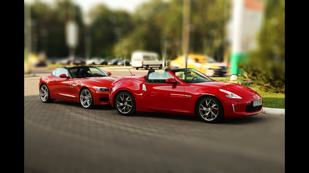 Bmw Z4 Vs Nissan 370z Youtube