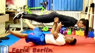 train together is fit forever couple workout partner training farid berlin