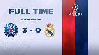 PARIS SAINT-GERMAIN 3 - 0 REAL MADRID