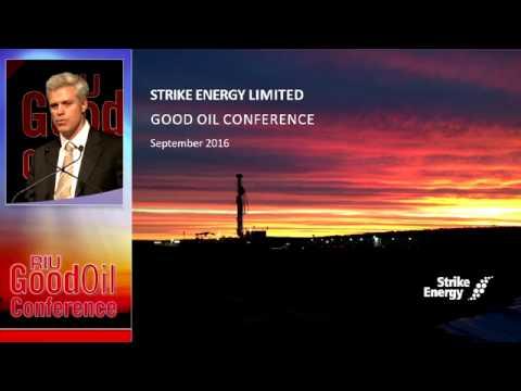 Good Oil 2016 – Conference Presentation (recording)