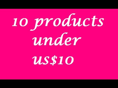 TAG: 10 Products Under US$10