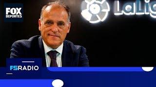 FOX Sports Radio: Javier Tebas sobre la piratería y el daño para La Liga