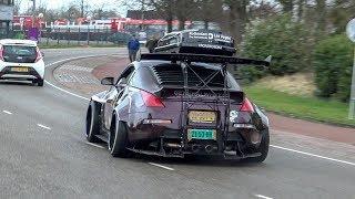 Modified Cars Leaving Car Meet - 1000HP Supra, Widebody 350Z, Skyline R34, Rocket Bunny S14, Cupra