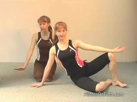 Pilates Workout Exercise: Side Bend