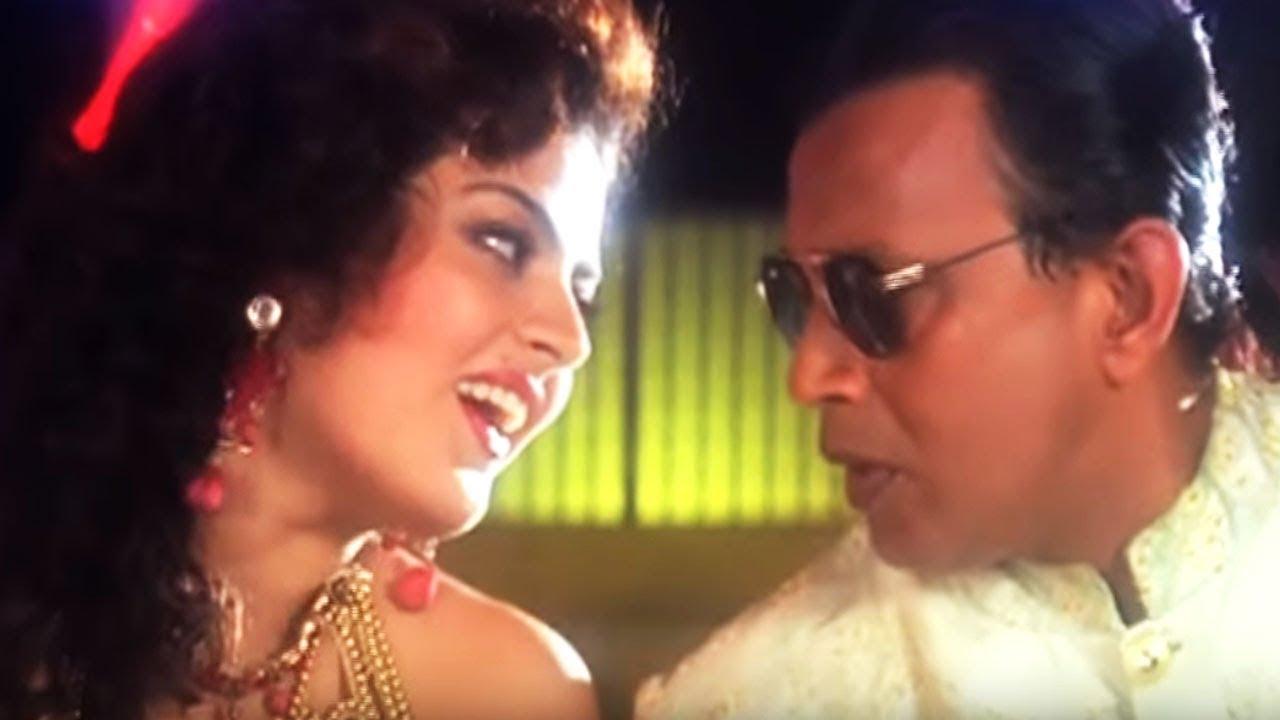 Mithun Chakraborty, Chunkey Pandey, Javed Jaffery | Teesra Kaun | Dance Song