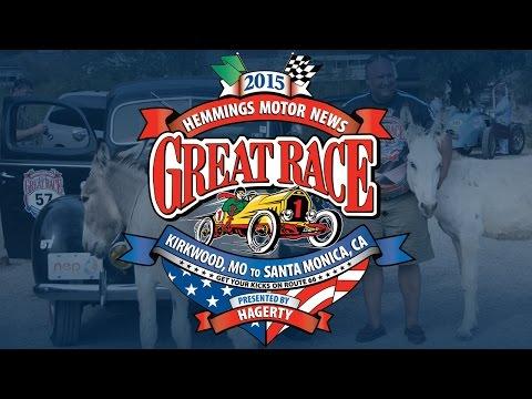 2015 Hemmings Motor News Great Race presented by Hagerty