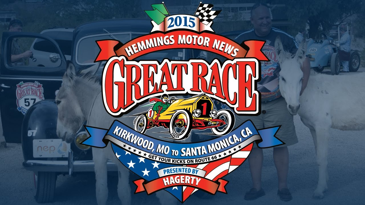 2015 Hemmings Motor News Great Race presented by Hagerty - YouTube