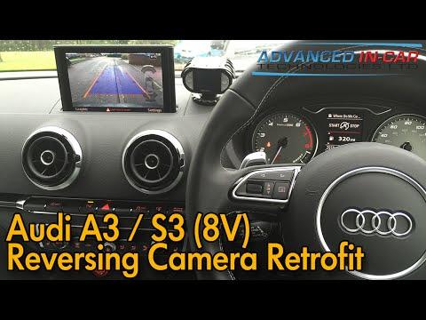 Audi A3 S3 8V Reversing Camera Retrofit