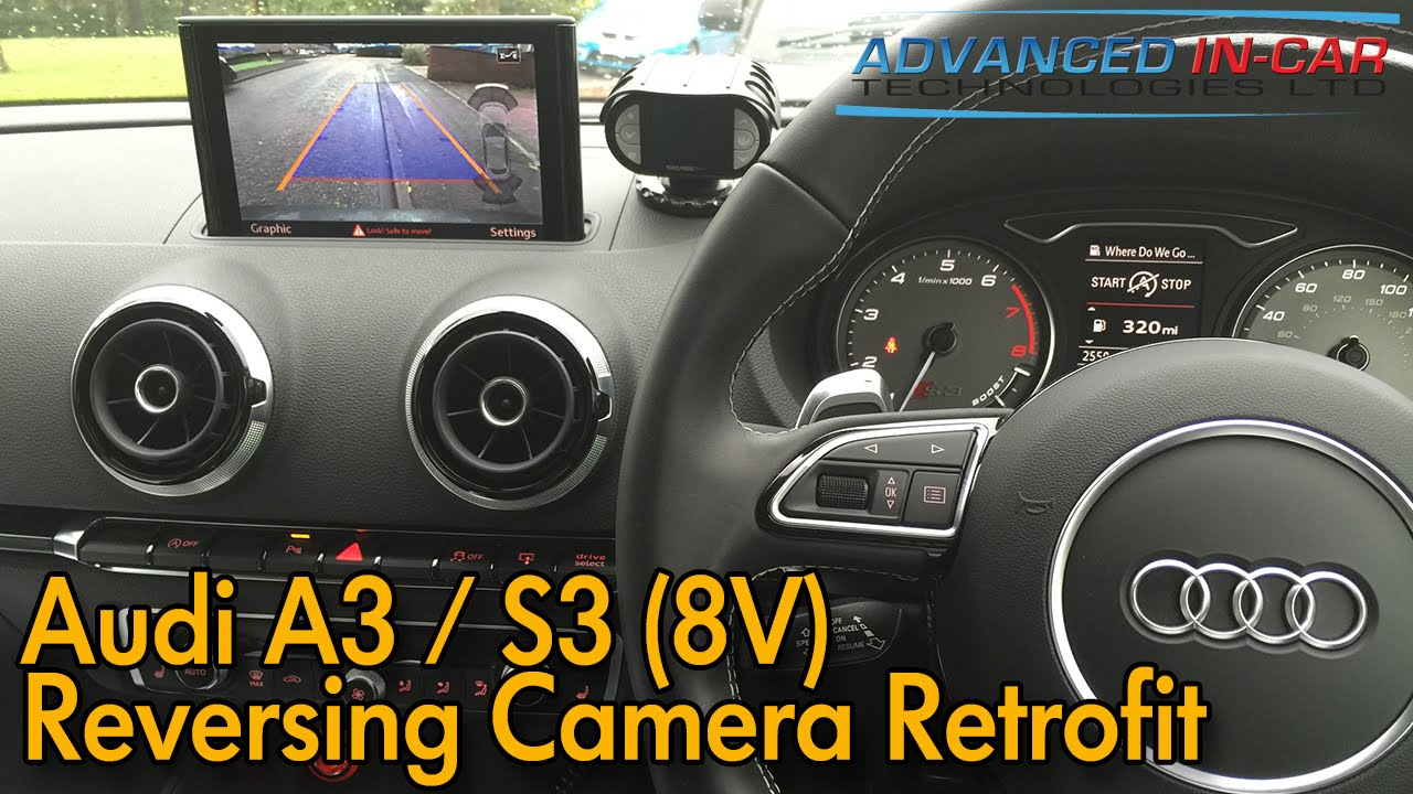 audi a3 s3 8v reversing camera retrofit youtube. Black Bedroom Furniture Sets. Home Design Ideas