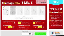 Sonntagslotto - Sonntags Lotto spielen