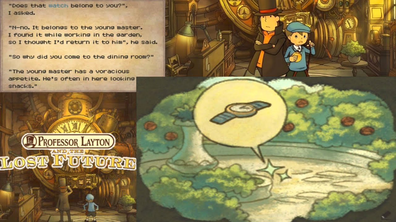 Professor Layton And The Lost Future Walkthrough Part 39 Youtube