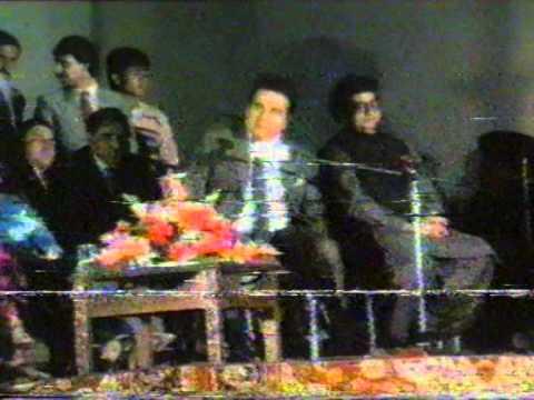 Dilip Kumar interview in PC Hotel Peshawar, April 1988 Part 1