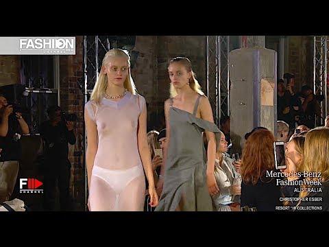 CHRISTOPHER ESBER MBFW AUSTRALIA RESORT 2018....Fashionweekly...On Fow24news.com