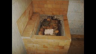 печь для бани или сауны (каменка) своими руками - обзор