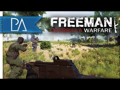 FIGHTING FOR LIBERTY! - Freeman: Guerrilla Warfare Gameplay