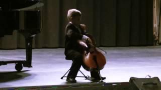 Christopher Tate, cello - Breval Sonata in C Major - Rondo Grazioso (June 2012)