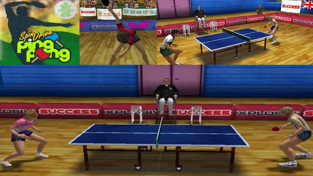 spindrive ping pong ps2