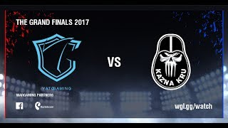 World of Tanks - YaTo Gaming vs Kazna Kru - Day 1, Group Stage,  The Grand Finals 2017
