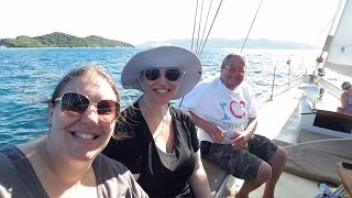 St Thomas in our Private Sailboat for the Day! - Norwegian Cruise Vlog [ep11]
