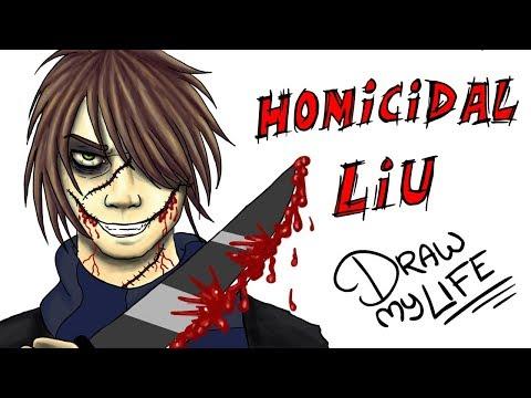 HOMICIDAL LIU (THE KILLER SAGA) | Draw My Life