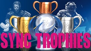 Syncing trophies!