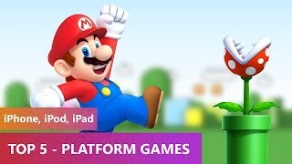 TOP 5 - Platform Games 2014 (iPhone, iPod, iPad)