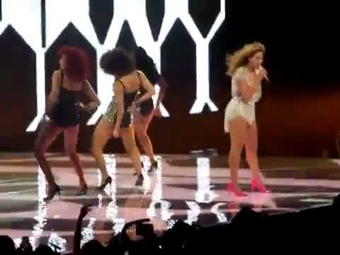 Beyonce Get Me Bodied, Baby Boy, Crazy In Love Live REVEL