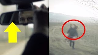 Dad Leaves Her on a Dirt Track. But Wait Till You See When He Checks the Rear-View Mirror… thumbnail