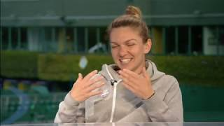 Sue Barker Interviews Simona Halep (The Championships 2019)