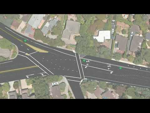 Remove Dangerous 3rd Lane - Santa Cruz Ave