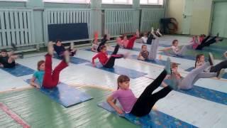 Видеоурок Ершова Ю А  по гимнастике 3 кл