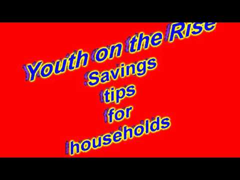 Savings tips for households - Youth on the Rise St.Lucia