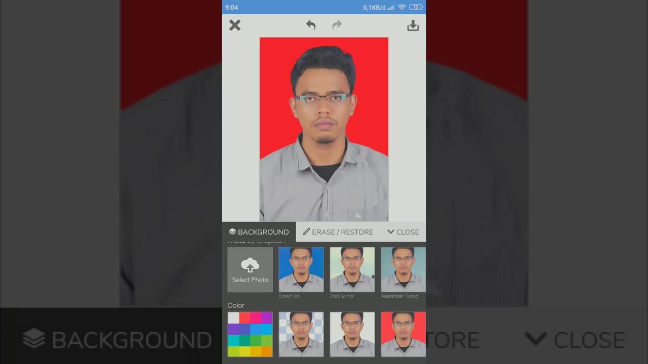 Cara Mudah Ganti Background Foto Di Android Tanpa Aplikasi Tambahan Youtube
