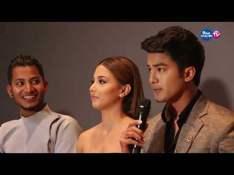 TIMI SANGA | full Movie Promotion | Samragyee RL Shah, Aakash Shrestha, Najir Husen