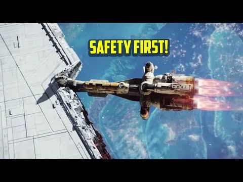 7 Safest Star Ship Designs | Star Wars